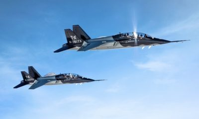 U.S. Air Force T-X Pilot Training Program Contract Has Been Awarded to Boeing