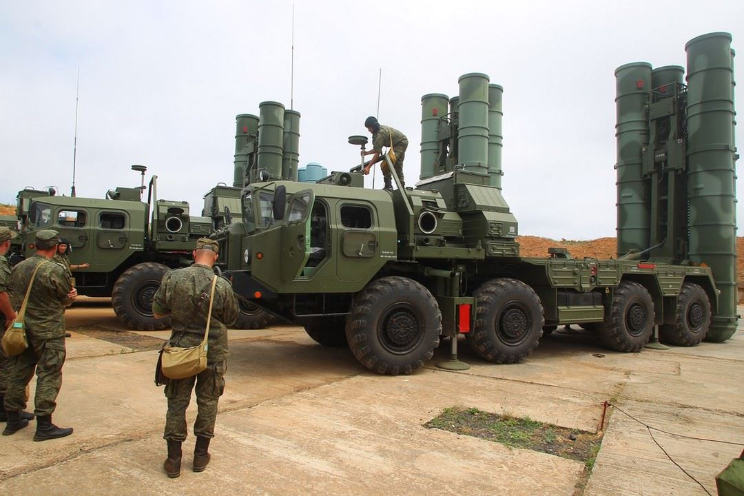40N6 Long-Range Missile of the S-400 Triumf Enters Service with the Russian Army
