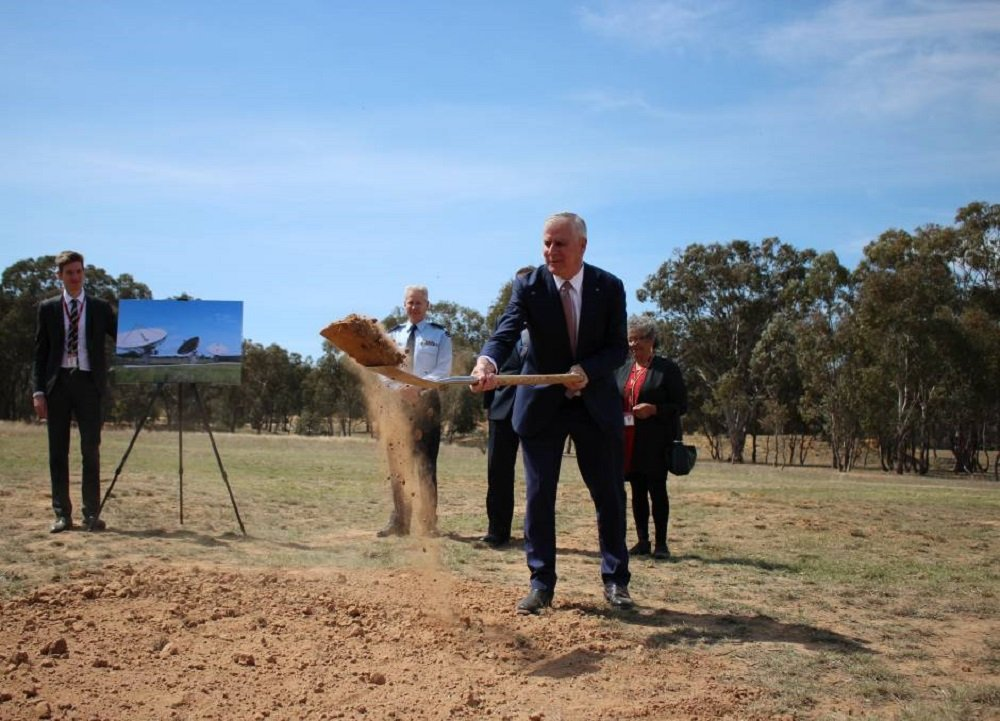 Australia Has Started the Construction of a New Defense Satellite Ground Station in Kapooka