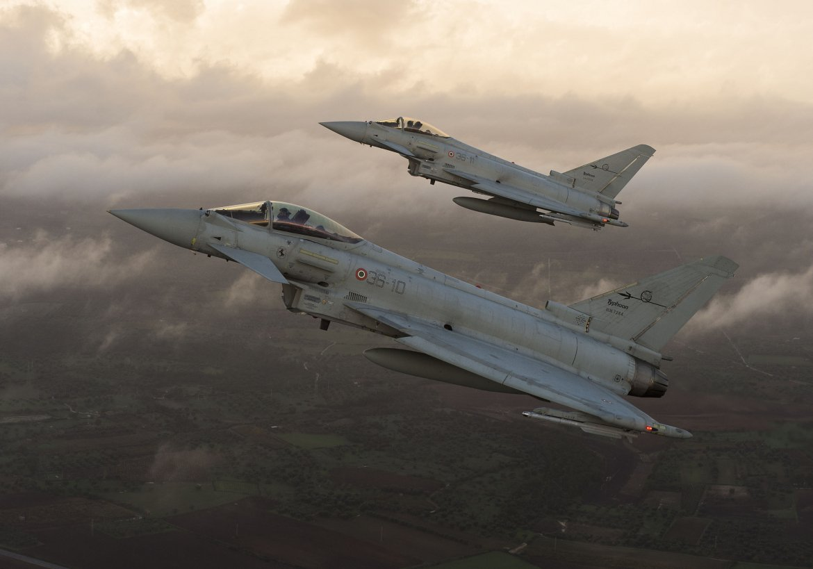 Leonardo Offers and an Option for Newly Built Eurofighter to the Bulgarian Ministry of Defence