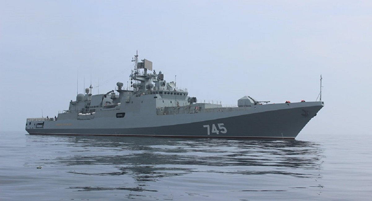 Russia to Deliver Two Stealth Frigates to India Under a $950 million Contract