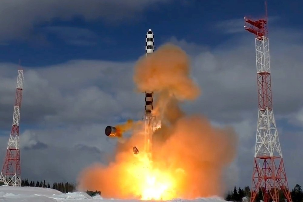 Russia's RS-28 Sarmat ICBMs Enters Serial Production in 2021