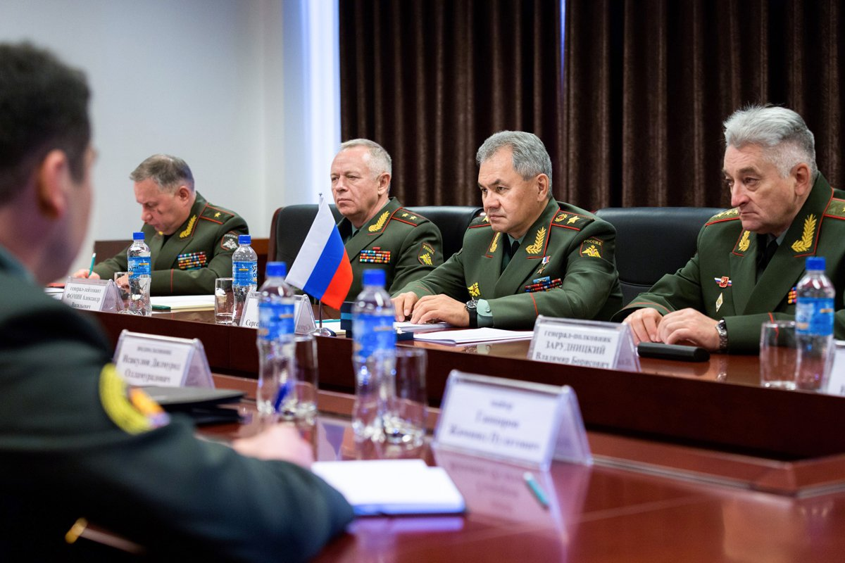 The Russian Minister of Defence Chaired the CIS Session in Uzbekistan