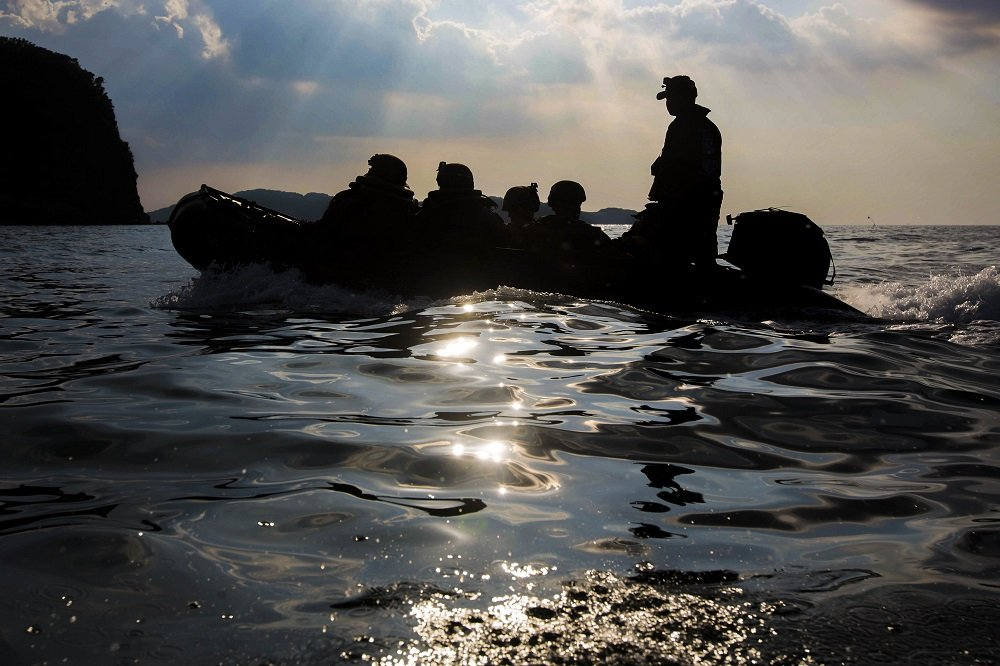 Echo 2/5 Conducts Amphibious Raids