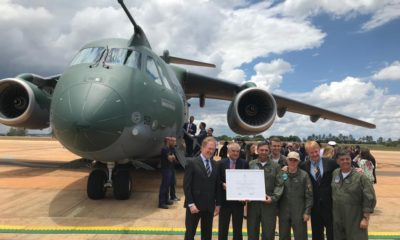 Embraer Announced the Receipt of the Type Certificate from ANAC for Its KC-390