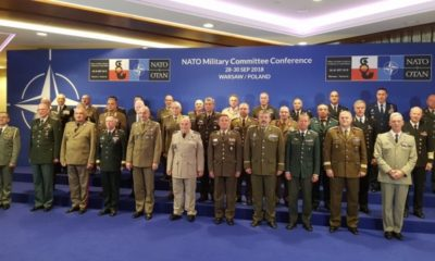 General Andrey Botsev (Bulgaria) Attended a NATO Military Committee Conference