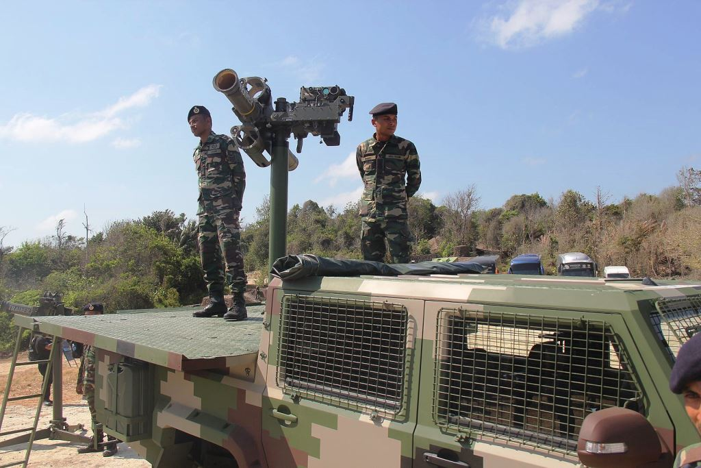 Malaysia Fires Starstreak Missiles as Part of Acceptance Trials