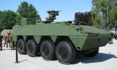 Slovakia Advances with the Patria AMV Vydra 8x8 Acquisition Plans