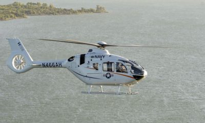 The H135 Will Be Showcased by Airbus Helicopters as the Future Navy Helicopter Trainer
