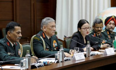 Valery Gerasimov Welcomed in Moscow a Military Delegation of the Indian Army
