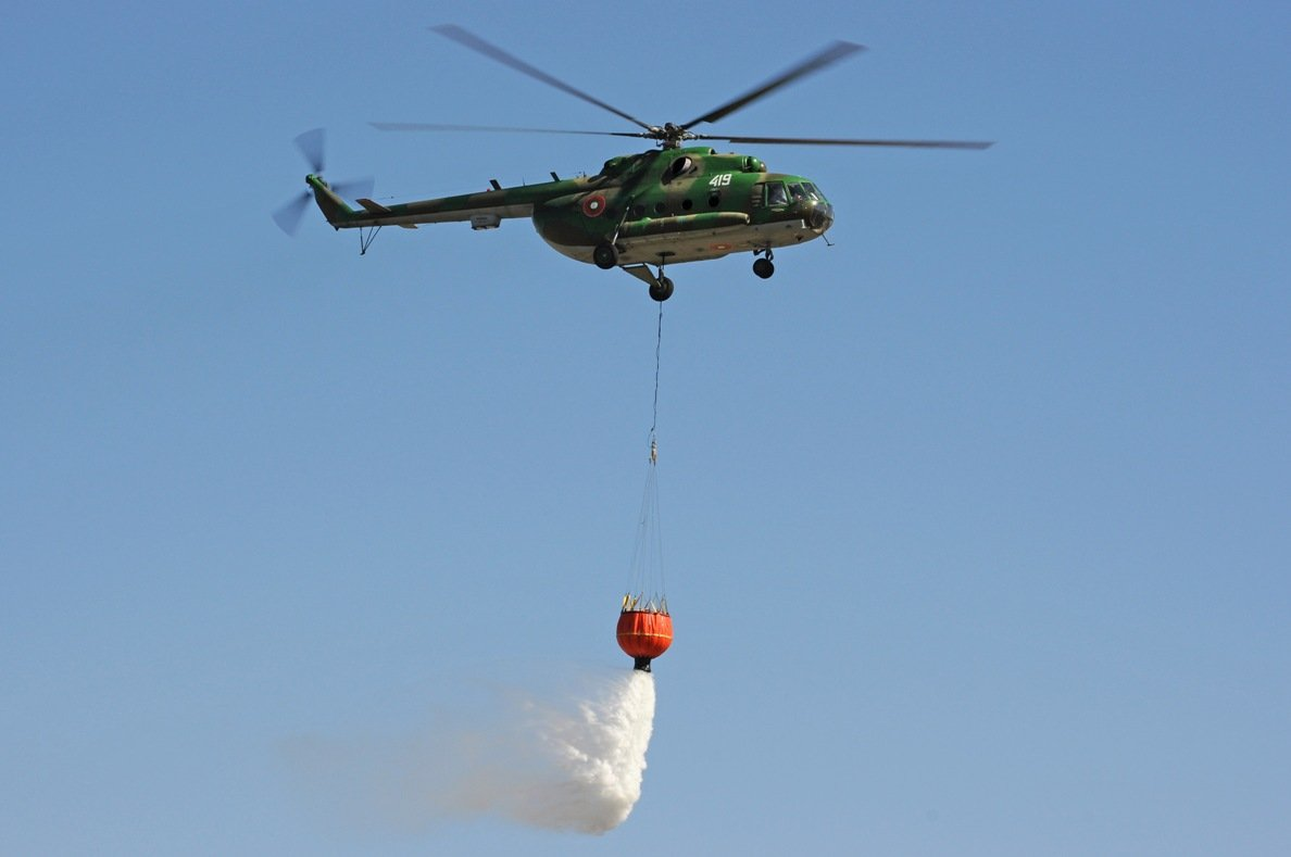 Bulgaria Remains Without a Firefighting Helicopter after a Failed Procedure