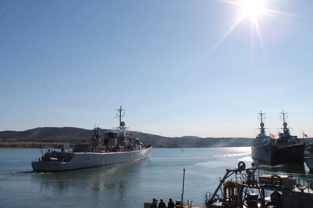 "Bulgarian Navy's Drazki Frigate Joins the NATO Operation ""Sea Guardian"""