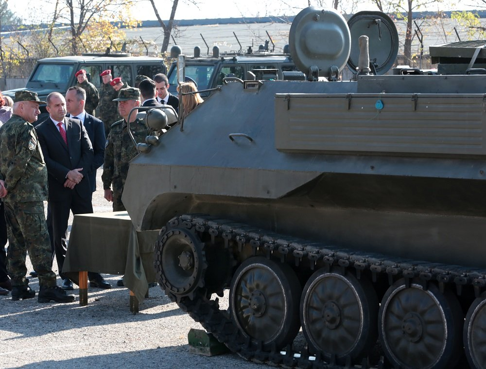 Bulgarian President Rumen Radev Visited the 61st Stryama Mechanized Brigade – Karlovo