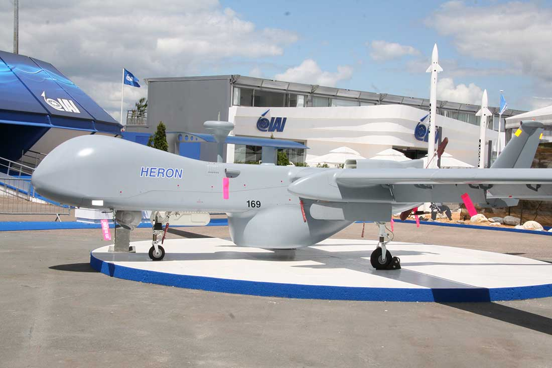 Can Israel keep its position as top UAS exporter?