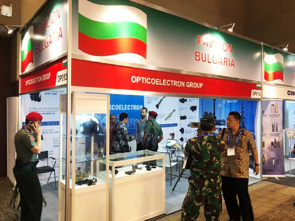Quality Bulgarian Optics at the International Exhibition Indo Defence in Indonesia