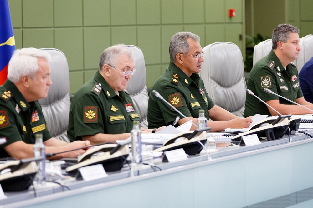Sergei Shoigu Chaired Teleconference with the Russian Armed Forces' Leadership