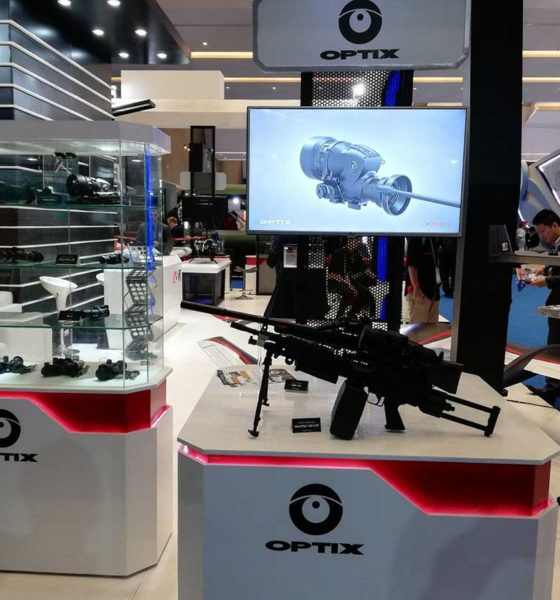The participation of Optix has provoked interest at Indo Defence - Indonesia