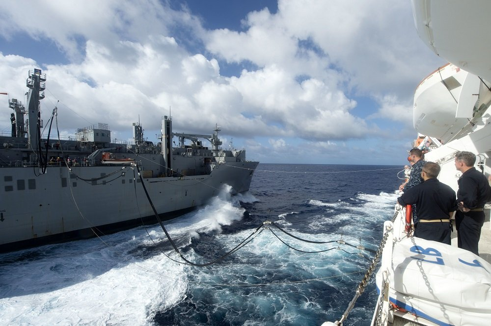 Comfort Conducts Replenishment