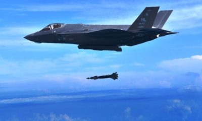 GBU-49 Dropped from F-35A for the First Time during Training