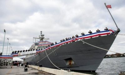 The Littoral Combat Ship 11 of the US Navy Commissioned