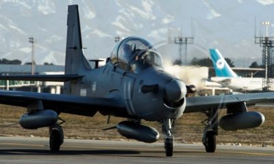Twelve A-29 Super Tucano Aircraft Will Be Built for the Nigerian Air Force
