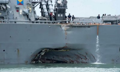 US Navy Training Standards Are Improving Following McCain and Fitzgerald Collisions