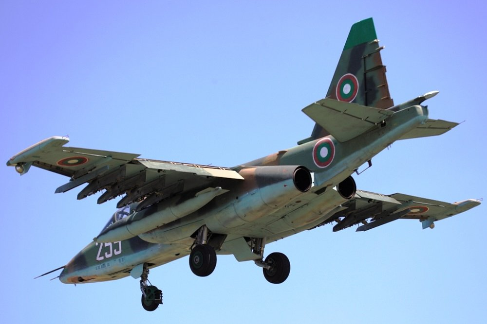 Despite its Lack of License the State-Owned Avionams Has Had a Chance to Repair Bulgaria's Su-25