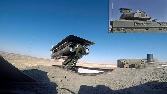 Israeli-MoD-and-Rafael-performed-a-test-of-Spike-anti-tank-missile-1