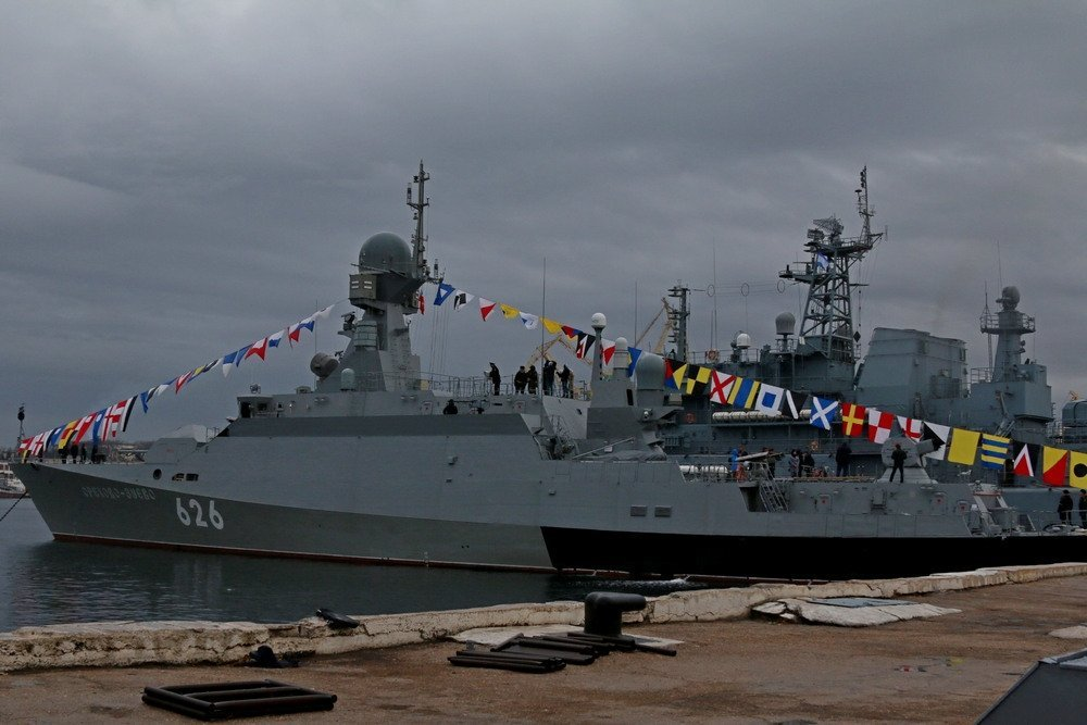 Latest Buyan-M Class Missile Corvette Enters Service with Russian Black Sea Fleet
