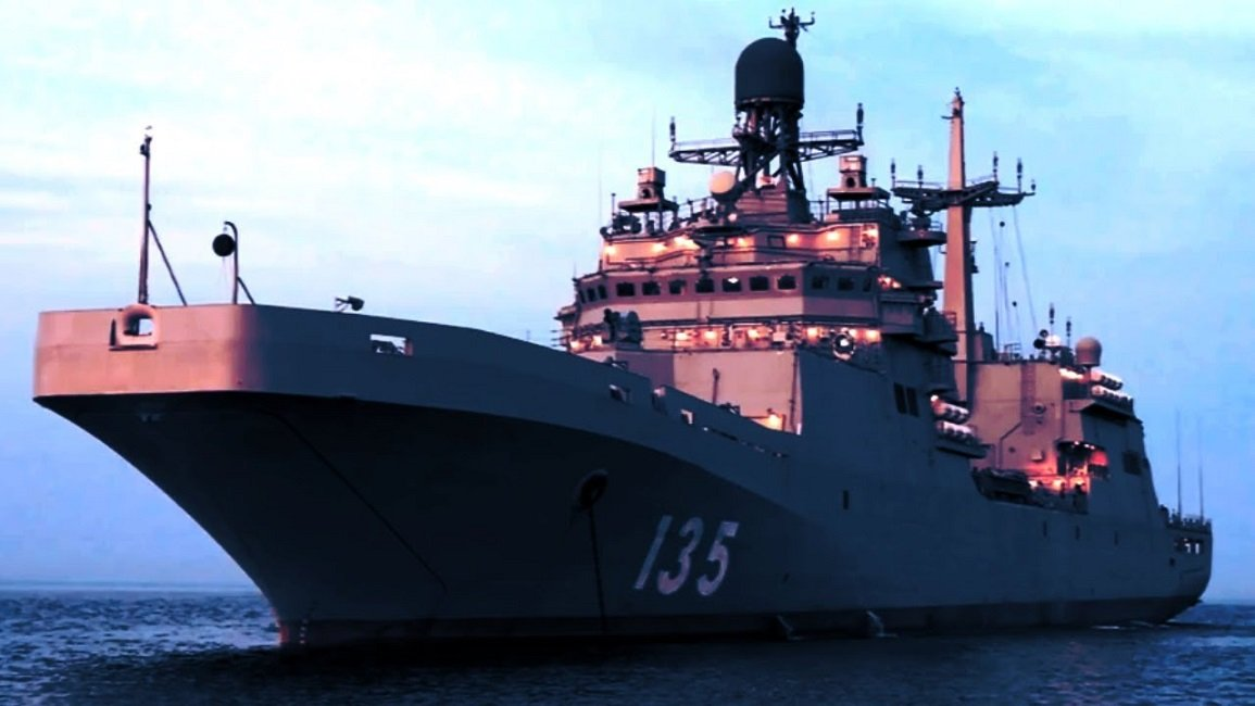 Russia will Construct Two More Landing Ships Under the Project 11711