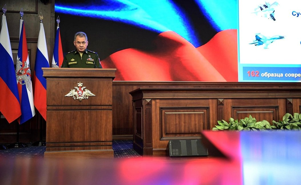 Sergey Shoigu Outlined the Plans of Russia's MoD for 2019 at the Ministry's Annual Board Meeting