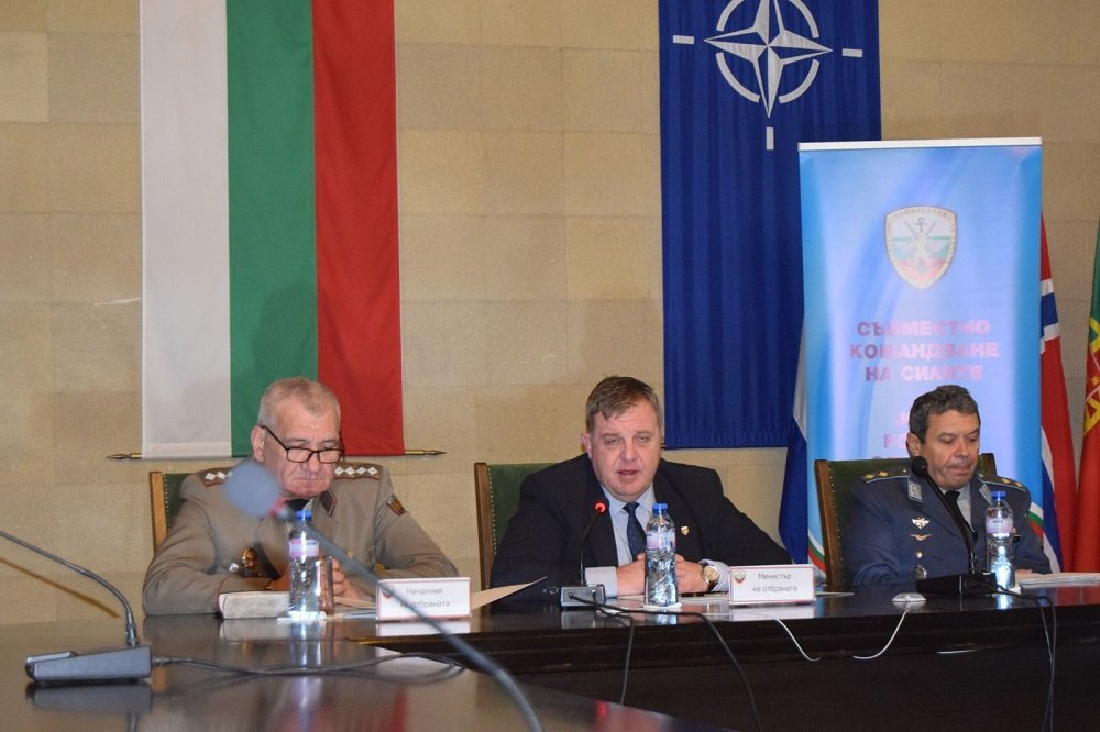 Traditional Video Conference with the National Commanders of Bulgaria's Military Contingents Abroad was Held Yesterday