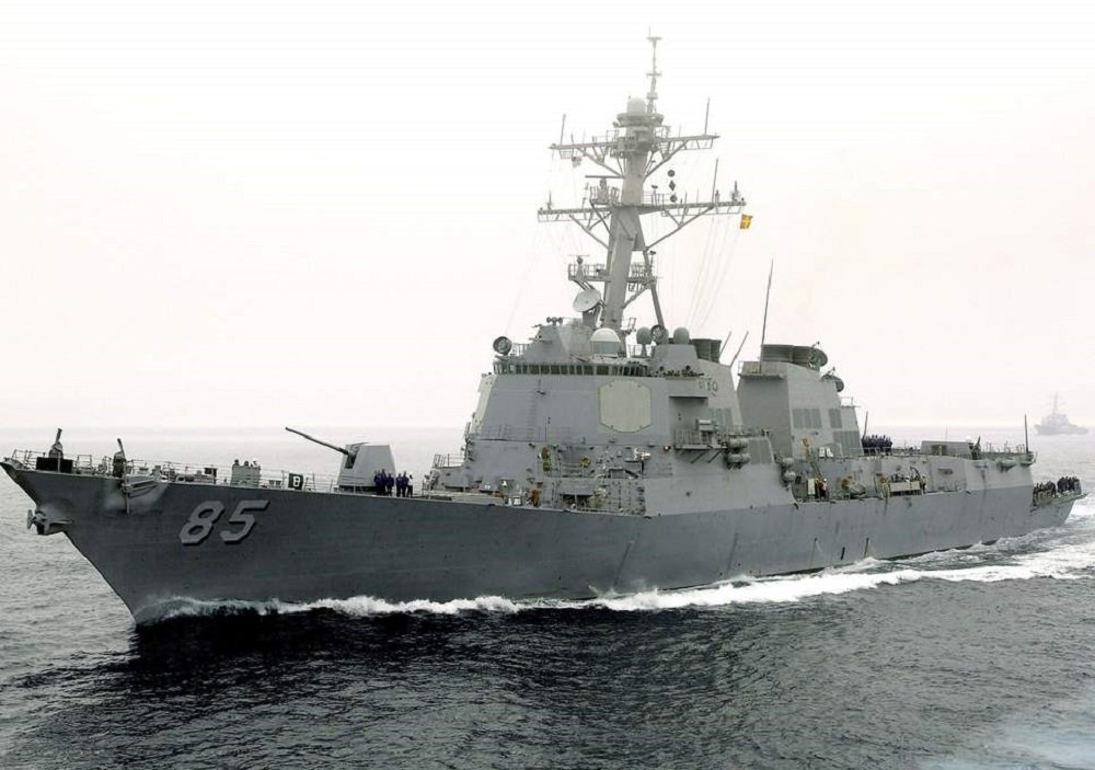 U.S. Navy Freedom of Navigation Operation in the Sea of Japan Closely Monitored by Russia