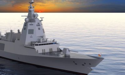 Navantia Will Build Five F-110 Frigates for the Spanish Navy