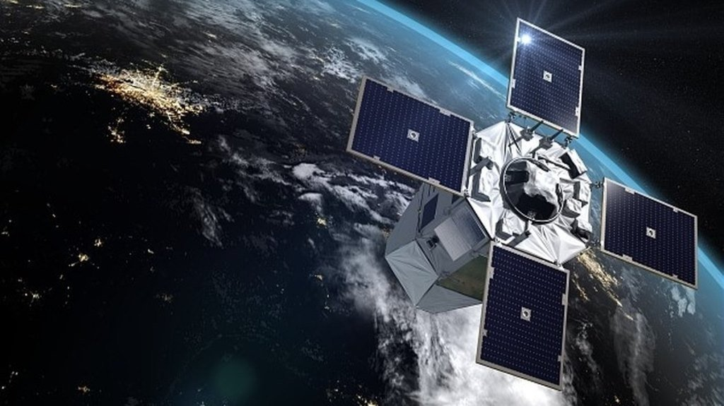 The First of Three Military Imaging Satellites Launched by France