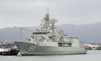 The First Set of HDRLOS Systems for the Australian Anzac Frigates Are Delivered