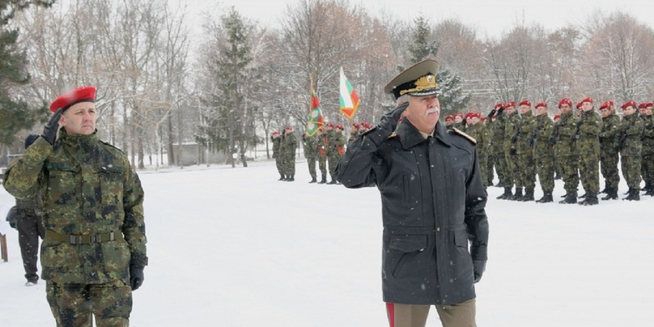 Bulgarian Armed Forces Solemnly Marked the Beginning of the New Military Training Period