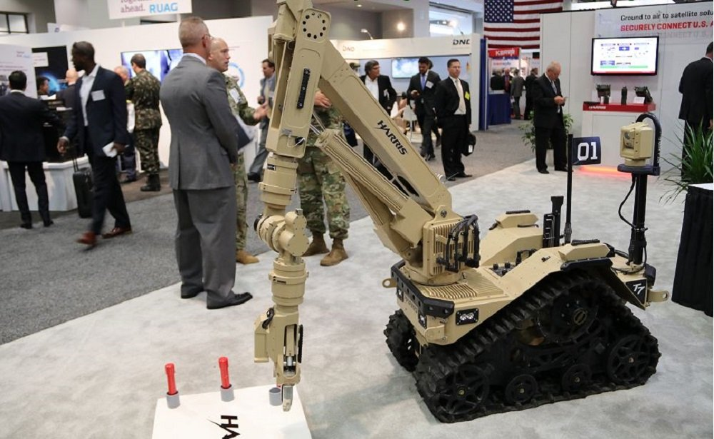 Harris Corporation Supplies the British Army with Pioneering Bomb Disposal Robots
