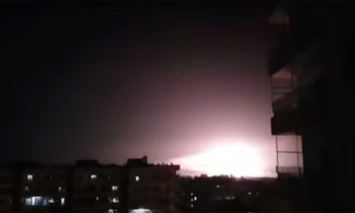 Israel has been attacking new Iranian targets near Damascus in the last 24 hours (video)