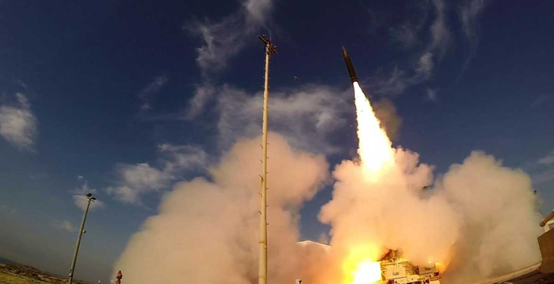 Israel-has-performed-a-limited-test-of-its-Arrow-3-ballistic-missile-defence-system