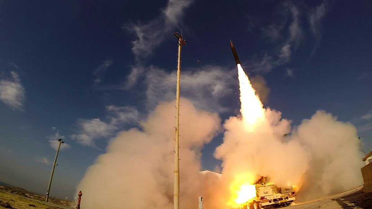 Israel has performed a limited test of its Arrow-3 ballistic missile defence system