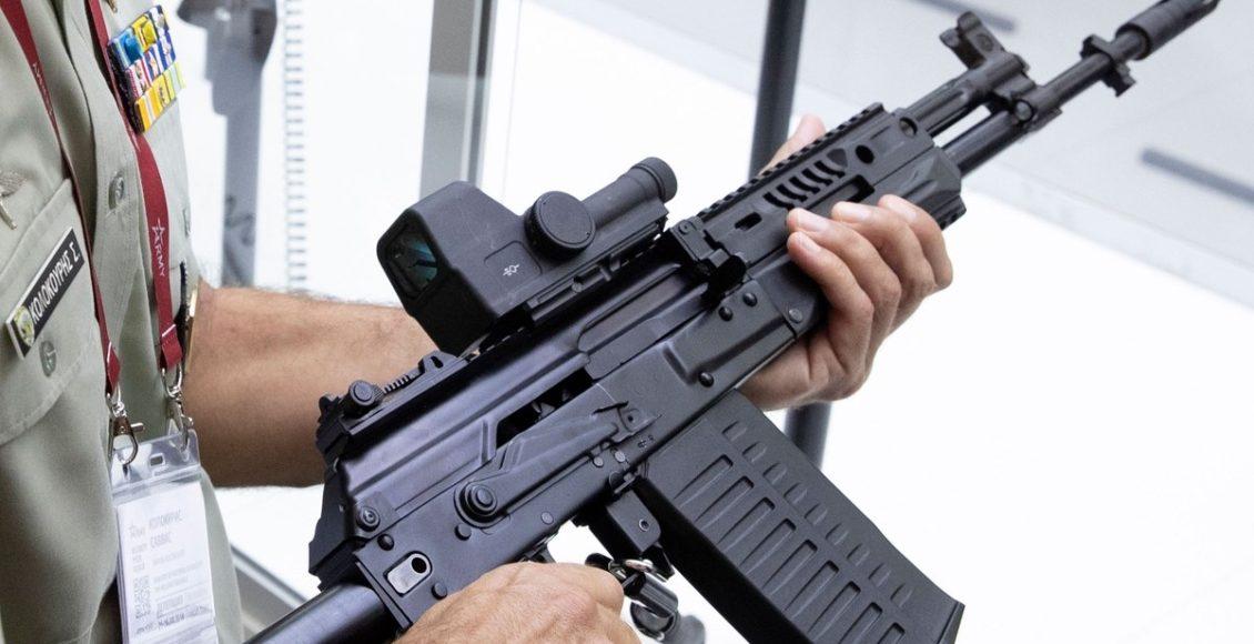 Kalashnikov Concern Plans to Begin Mass Production of the NATO-Standard Assault Rifle AK-308