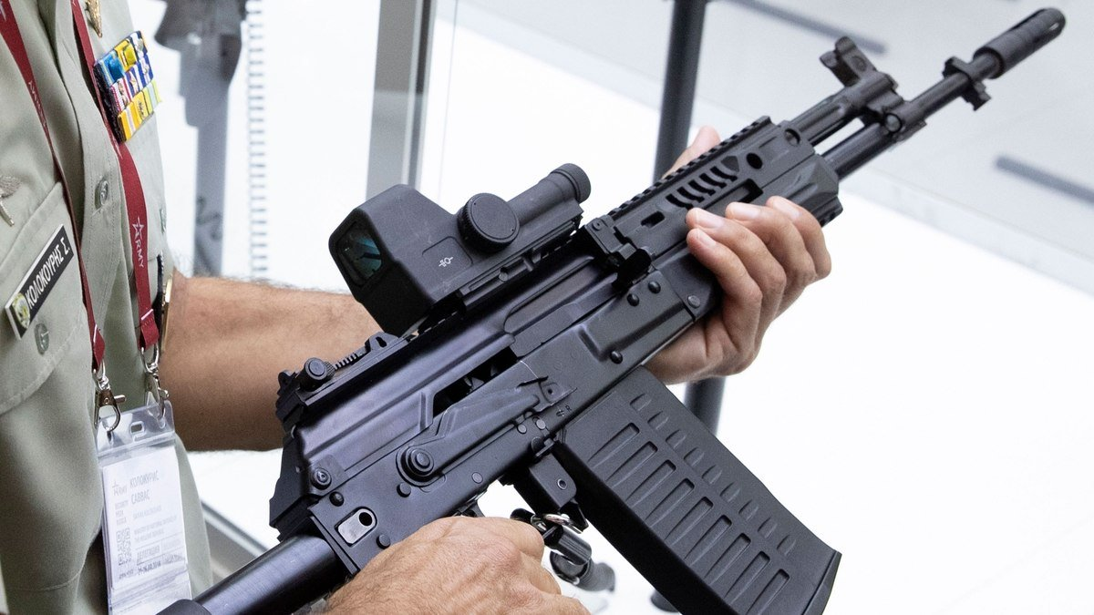 Kalashnikov Concern Plans to Begin Mass Production of the NATO-Standard Assault Rifle AK-308