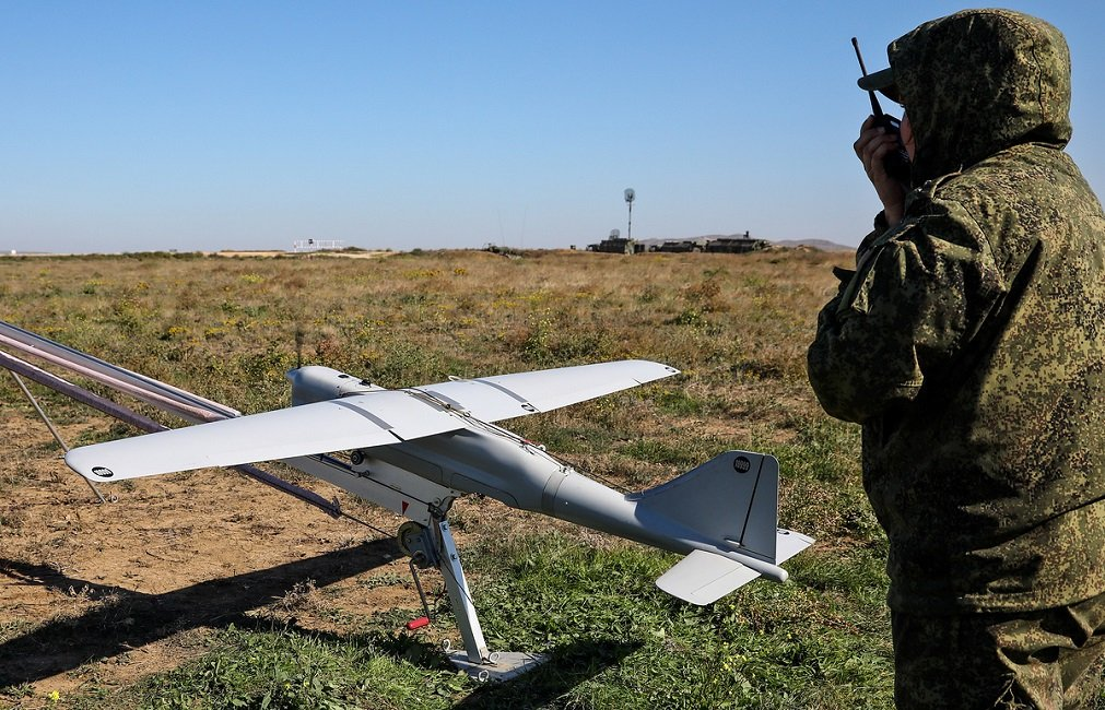 Non-lethal Weapons for UAVs and Robots Are Being Developed by the Russian State Corporation Rostec