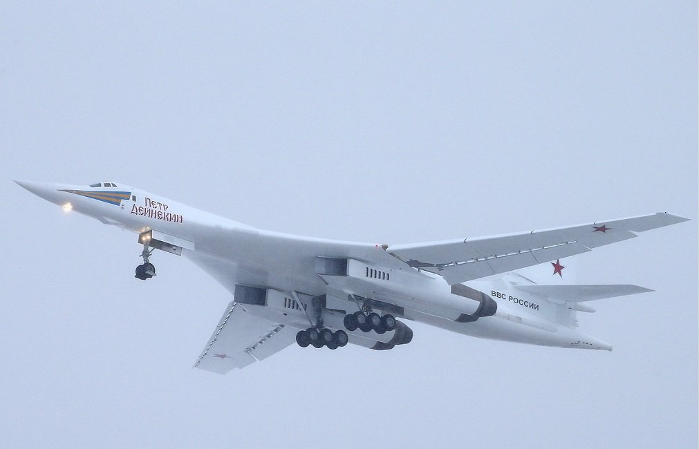 The First Upgraded Tupolev-160M Bomber to Enter the Russian Armed Forces in 2021