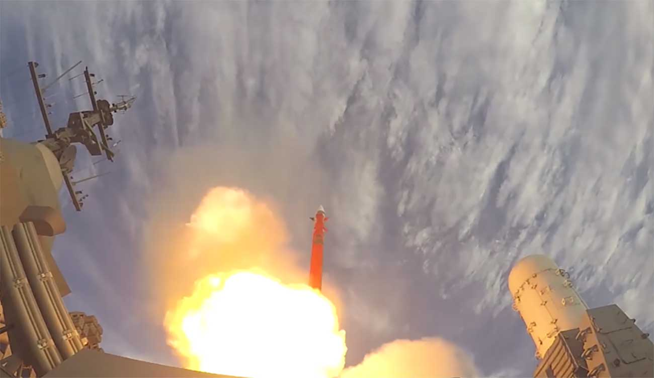 The Indian navy has performed a successful intercept of an aerial target using the Israeli LRSAM