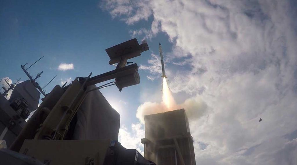 The Israeli Navy Will Integrated Rafael's C-Dome Defense System