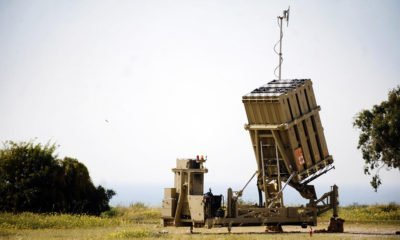 The U.S. Army will purchase two Israeli Iron Dome rocket defence systems