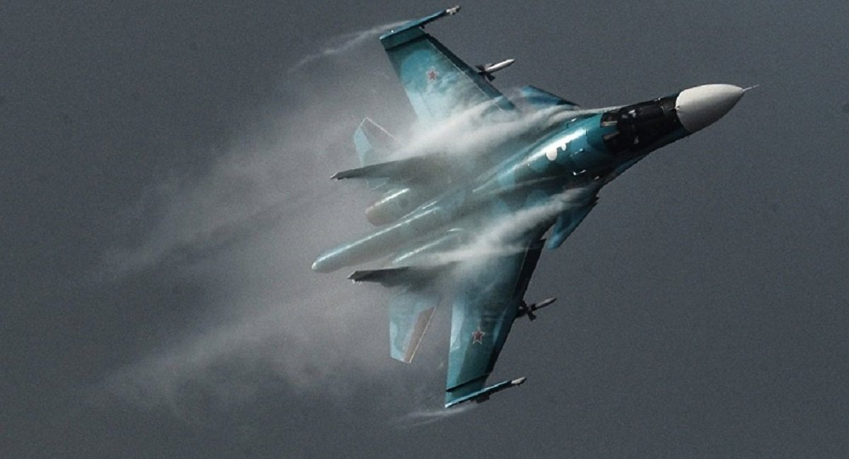 Two Russian Su-34 Fighter Bombers Collide in Midair during Training Flight