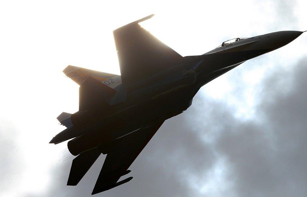 Warplanes of Russia's Baltic Fleet Practice Intercepting Air Targets